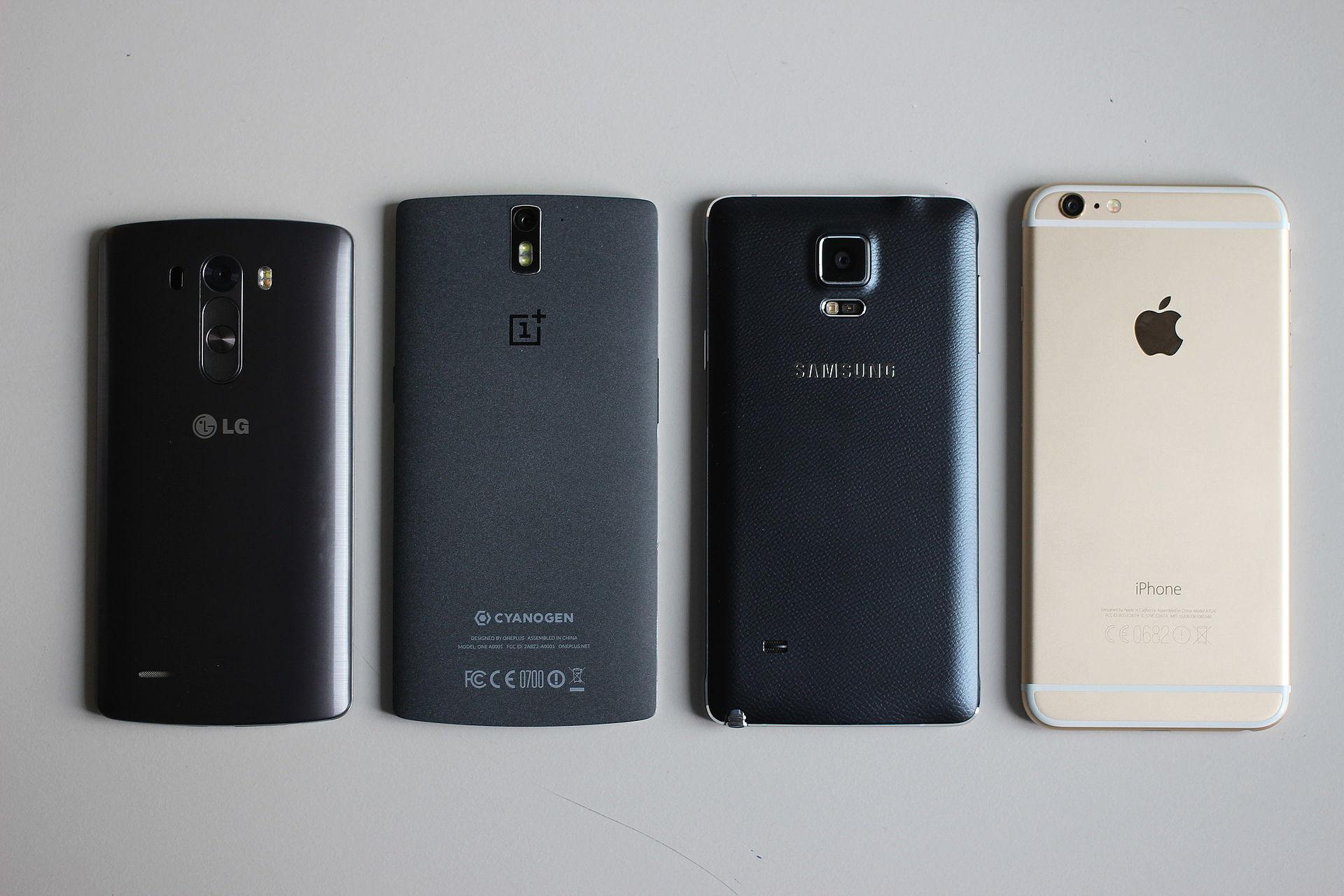 top smartfony